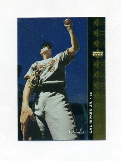 1994 SP Baseball #126 Cal Ripken Jr. - Baltimore Orioles