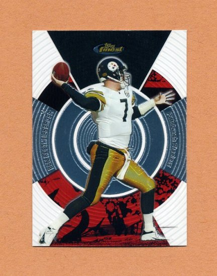 2005 Finest Football #108 Ben Roethlisberger - Pittsburgh Steelers