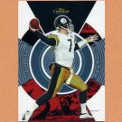 2005 Finest Football #108 Ben Roethlisberger - Pittsburgh Steelers