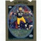 1996 Upper Deck Silver All-NFL Football #AN15 Reggie White - Green Bay Packers