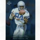 1996 Upper Deck Silver Football #177 Joey Galloway - Seattle Seahawks