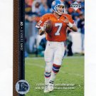 1996 Upper Deck Football #099 John Elway - Denver Broncos