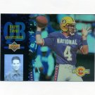 1994 Upper Deck Football Pro Bowl #PB09 Brett Favre - Green Bay Packers