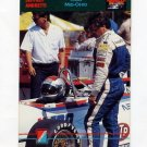 1992 Collect-A-Card Andretti Racing #93 Mario Andretti / Jeff Andretti