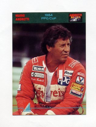 1992 Collect-A-Card Andretti Racing #90 Mario Andretti