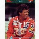 1992 Collect-A-Card Andretti Racing #90 Mario Andretti