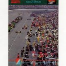 1992 Collect-A-Card Andretti Racing #77 Michael Andretti in Pits