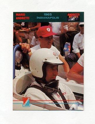 1992 Collect-A-Card Andretti Racing #71 Mario Andretti