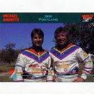 1992 Collect-A-Card Andretti Racing #43 Michael Andretti / Mario Andretti