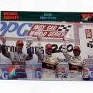 1992 Collect-A-Card Andretti Racing #42 Michael Andretti / Mario Andretti / Al Unser Jr.