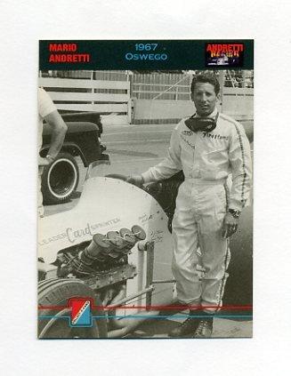 1992 Collect-A-Card Andretti Racing #15 Mario Andretti
