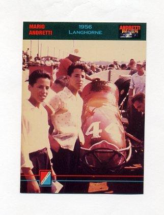 1992 Collect-A-Card Andretti Racing #13 Mario Andretti / Aldo Andretti