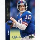 1994 Upper Deck Electric Gold Football #081 Kent Graham - New York Giants