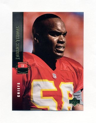 1994 Upper Deck Football #313 Derrick Thomas - Kansas City Chiefs