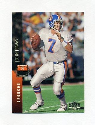 1994 Upper Deck Football #218 John Elway - Denver Broncos