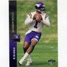 1994 Upper Deck Football #042 Warren Moon - Minnesota Vikings