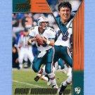 1998 Aurora Football #087 Dan Marino - Miami Dolphins