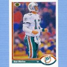 1991 Upper Deck Football #255 Dan Marino - Miami Dolphins