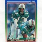 1990 Score Football #013 Dan Marino - Miami Dolphins