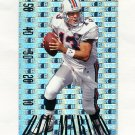 1995 SkyBox Premium Paydirt Gold Football #PD14 Dan Marino - Miami Dolphins