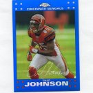 2007 Topps Chrome Blue Refractors Football #TC131 Chad Johnson - Cincinnati Bengals