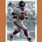 2002 SP Authentic Football #127 Michael Vick - Atlanta Falcons 0571/1150