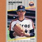 1989 Fleer Baseball #368 Nolan Ryan - Houston Astros