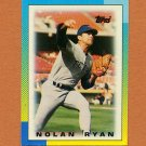 1990 Topps Mini Leaders Baseball #39 Nolan Ryan - Texas Rangers Ex