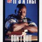 1995 FACT NFL Properties Football #17 Emmitt Smith - Dallas Cowboys
