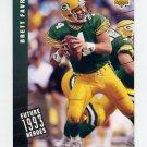 1993 Upper Deck Future Heroes Football #44 Brett Favre - Green Bay Packers