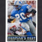 1993 Upper Deck Football #441 Barry Sanders - Detroit Lions