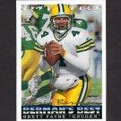 1993 Upper Deck Football #439 Brett Favre - Green Bay Packers