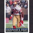 1993 Upper Deck Football #433 Jerry Rice - San Francisco 49ers