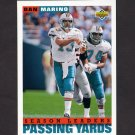 1993 Upper Deck Football #426 Dan Marino - Miami Dolphins