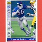 1993 Upper Deck Football #117 Lawrence Taylor - New York Giants