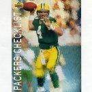 1993 Upper Deck Football #082 Brett Favre - Green Bay Packers