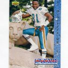 1993 Upper Deck Football #016 O.J. McDuffie RC - Miami Dolphins