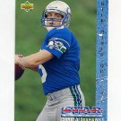 1993 Upper Deck Football #003 Rick Mirer RC - Seattle Seahawks