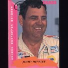 1993 Traks First Run Racing #118 Jimmy Hensley