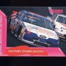 1993 Traks First Run Racing #103 Dick Trickle's Car