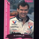 1993 Traks First Run Racing #084 Al Unser Jr.