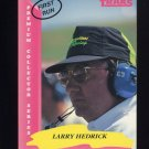 1993 Traks First Run Racing #064 Larry Hedrick