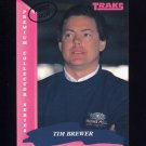 1993 Traks First Run Racing #061 Tim Brewer