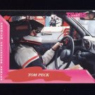 1993 Traks First Run Racing #019 Tom Peck