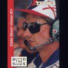 1995 Traks Behind The Scenes Racing #BTS17 Eddie Wood
