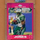 2007 Topps Chrome Red Refractors Uncirculated #TC12 Thomas Jones - New York Jets /139