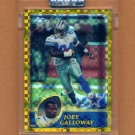 2003 Topps Chrome Gold Xfractors Football #093 Joey Galloway - Dallas Cowboys 090/101