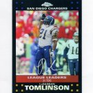 2007 Topps Chrome Refractors Football #TC153 LaDainian Tomlinson - San Diego Chargers