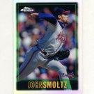 1997 Topps Chrome Refractors Baseball #061 John Smoltz - Atlanta Braves