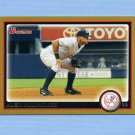 2010 Bowman Gold Baseball #161 Alex Rodriguez - New York Yankees